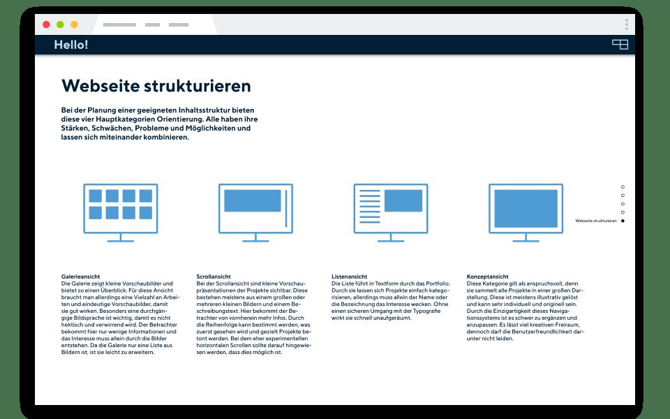 Editorialdesign straubmuellerstudios Stuttgart Web Vorschau