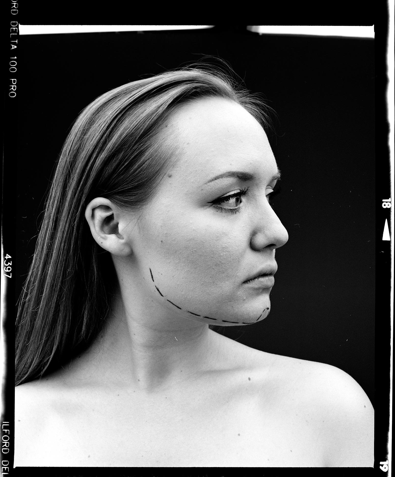 Portraitfotografie straubmuellerstudios Kinn